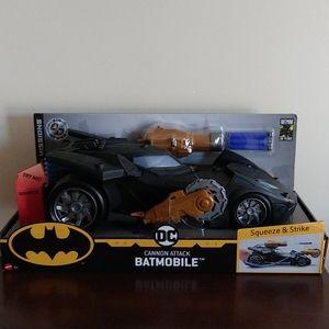 Batman Mission Air Power Cannon Attack Batmobile